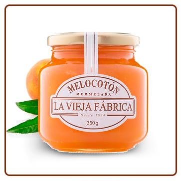 "Mermelada de melocotón ""LA VIEJA FABRICA"" 3"
