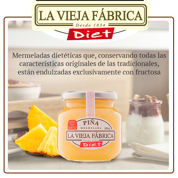 """Mermelada de piña DIET """"LA VIEJA FABRICA"""" 3"""