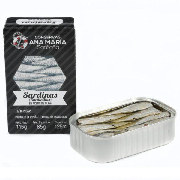 sardinillas en aceite de oliva ANA MARIA 3