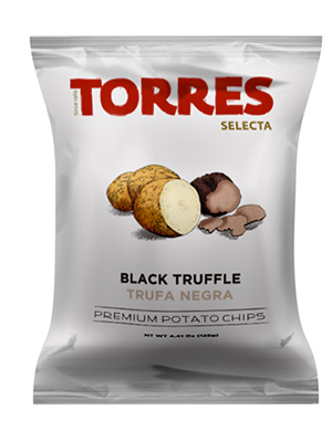 patatas fritas selectas TORRES sabor trufa negra 3